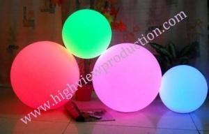 China bar ball/illuminated LED ball/luminous ball/light-emitting ball/glow globe /glittering globe on sale
