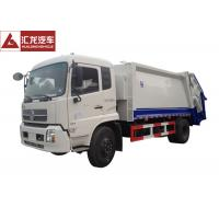Dongfeng Garbage Compactor Truck 4x2 Low Noise High Assembly Accuracy