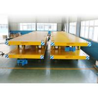 Basic Metals Heavy Duty Plant Trailer / Material Transfer Trolley Simple Structure