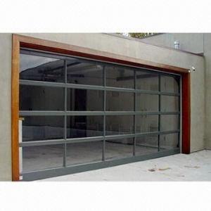 China Organic glass overhead garage door, made of polyamide on sale