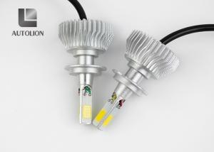 China High brightness Long Span life 30W 3600LM Z3 COB Chip 6000K 6500K Aluminum car led headlight H7 on sale