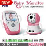 exposição 2012 do quadrilátero que grava o monitor sem fio digital do bebê