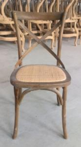 wooden french wholesale crossback chair cross back wood chairs event
