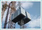 Grua com uma capacidade de levantamento de 3 toneladas, grua dobro da construção pesada da construção da cabine