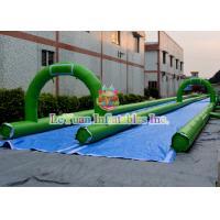 City Inflatable Slip N Slide Double Quadruple Stitching For Reinforcement
