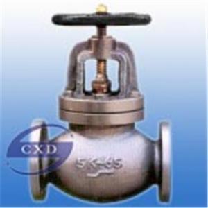 China JIS-marine- cast iron globe valve on sale