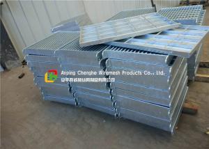 City Road Floor Forge Walkway Steel Grating , Metal Bar Grating Anti