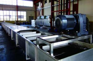 China Warehouse Scraper Automated Conveyor Systems No Overflow Debris Easy Cleaning on sale