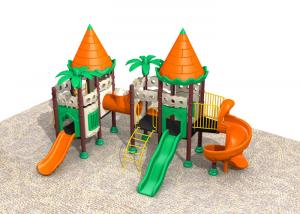 China Durable Fun Kids Outdoor Playground Equipment Easy To Install Bright Colors on sale