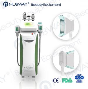 China Multifunction Cavitation & Rf & Cryolipolysis Beauty Equipment on sale