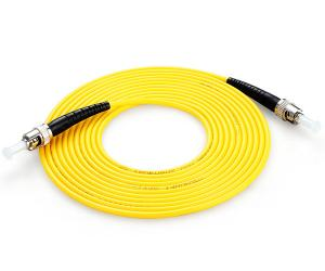 China FTTH ST ST Patch Cord Simplex LSZH / PVC Indoor Length Customized on sale