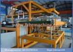 Clamshell Take-out Containers Disposable Foam Plates Making Machine 1000 x 1250mm yellow color
