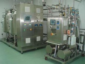 China Pharma Fluid Bed Granulator Mobile Cip Unit , Stainless Steel Sanitary Cip Station on sale