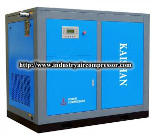 China Standard efficiency screw 10 HP air compressor Low rotation IP54 rated on sale