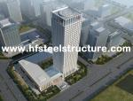 Da construção de aço de aço do Multi-Andar da construção do arranha-céus galvanização elétrica e moedura, perfuração, Tiro-Soprando