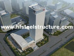 China High-rise Steel Building Multi-Storey Steel Building Electric Galvanized And Grinding,Punching,Shot-Blasting on sale