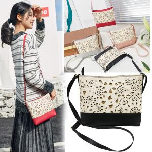 China WHOLESALES Girls Purses Hollow Out Design Shoulder Bag Cheap Price From China Supplier OEM Customized Bag Offer on sale