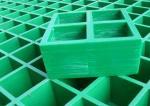 Platform Molded Fiberglass Grating, Square Hole Fiberglass Grate Flooring