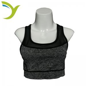China Wholesales S/M Polyester/Spandex Women's Sports Bra Yoga Wear on sale