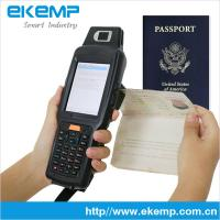 Android Handheld Passport Reader, MRZ OCR Scanner(X6)