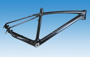 "Quality 1200g 26er Hardtail Carbon Mountain Bike Frame 17"" 19"" Custom Painting HT-M096 for sale"