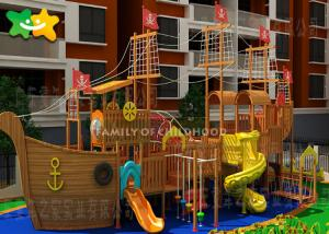 China Children'S Kids Outdoor Playground Equipment Cubby House Pro Installation on sale