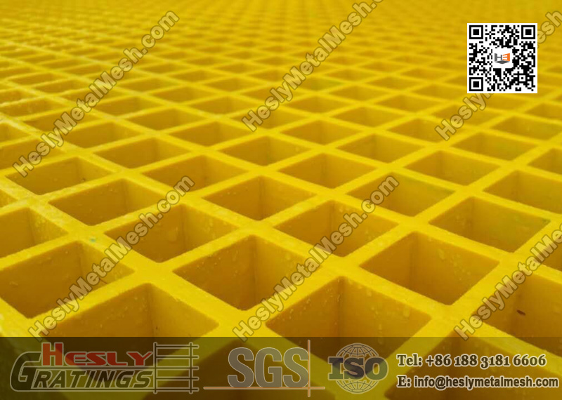 Yellow Color FRP Grating China