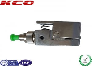 China Square Metal Bare Fiber Adaptor FC/APC SXSM , Fibre Optic Adapter Quick Interconnect on sale