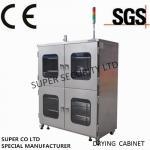 Шкаф электронного нержавеющего азота сухой с светом, анти--влажностью и влагоотделением towder