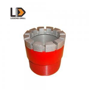 China Low Bit Breakage Rate Diamond Core Drill Bit For Soft To Medium Hard Rocks Coring on sale