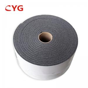 China Aluminum Foil Closed Cell Spray Polyethylene Foam Insulation Adhesive Backed on sale