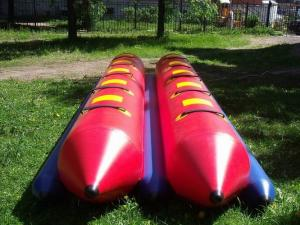 China Inflatable Dual Tube Banana Boat, Inflatable Tube Boat For Water Sports on sale