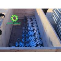 High Strength Bond Metal Ground Screw / Ground Screw Piles Saving Cost Effective
