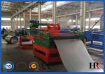 Full Automatic Galvanized Steel Silo Roll Forming Machine For Grain Storage