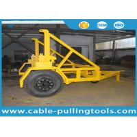 10T Cable Carriage Vehicle Cable Drum Trailer Cable Reel Trailer Underground Cable Tools