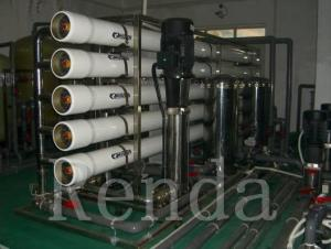 China 2000 LPH Pure Water Treament Systems Filtering Systems SUS304 RO Membrane Bottled Water Filter on sale