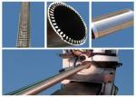 máquina soldada de aço inoxidável da rede de arame de 380V 200KVA 1.5-5 milímetros de apoio Rod