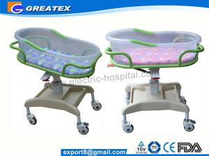 China Transparent PP Mobile Hospital Baby Bed / Cot / Crib for infant with music display on sale