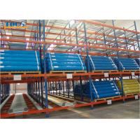 1-24 Tons Storage Case Flow Rack , Industrial Gravity Flow Storage Racks