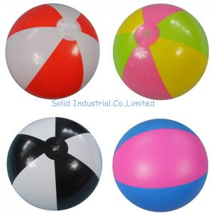 China Customized Inflatable Beach Ball & Advertising Ball on sale
