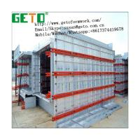China Used Lightweight Exterior Wall Panel Building Materials Aluminum GETO Formwork For Sale/aluminum formwork panel on sale
