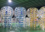 Commercial Adults Giant Bubble Soccer , Comfortable Big Inflatable Soccer Ball