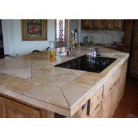 China Golsen King Stone Vanity Kitchen Island Waterfall Edge For Restaurant Cafe Shop on sale