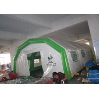 Mobile air beam inflatable hospital tent for emergency