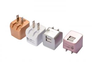China High Speed Mobile Phone Wall Charger , Mini USB Charger 100 - 240V Output on sale