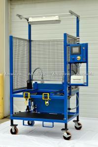 China High Frequency 40Khz 800W Wheel Cover Ultrasonic Riveting Welding Machine on sale