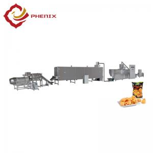 China automatic puffed snacks food twin screw extruder making machine production line on sale