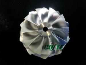 China GEN2 GTX3071R GTX3076R GTX3576R GTX3582R Reverse Point Milling Performance Billet Wheel on sale