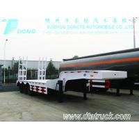 Flat bed trailer/ Low-bed semi-trailers