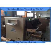 Small Size Duel Energy X Ray Baggage Scanner SF5030C Use For Hotel Detection